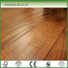 tamanho grande acenou piso de madeira maciça de madeira de carvalho