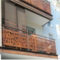 Panel Baja Balustrade Corten