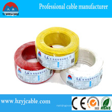 China Manufacture 2X10mm2 Solid Flat Sheath Cable for House Application