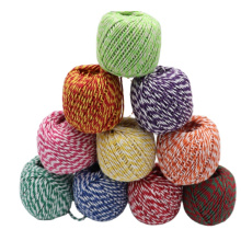 cotton rope macrame  Custom 2 Color  Cord cord cotton braided rope gift festival decoration rope