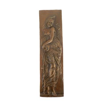 Relief en laiton Statue saison déesse Relievo Deco Bronze Sculpture Tpy-838 ~ 842