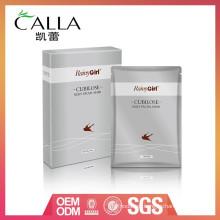 máscara de proteína de seda de buena calidad con mejor y bajo precio