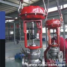 Регулирующий клапан потока или давления с литой углеродистой или нержавеющей сталью