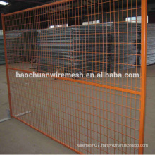 Temporary Construction Fence Panel with Mesh Opening of 60 x 150mm and 75 x 75mm