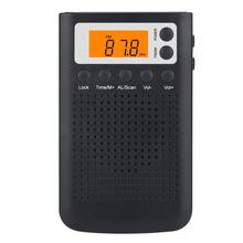 Pocket Cheap Clock Radio With  Rechargeable  Digital Fm Clock Radio