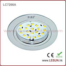 Теч се 12V светодиодные вниз свет шкафа ювелирных изделий мини (LC7267D)