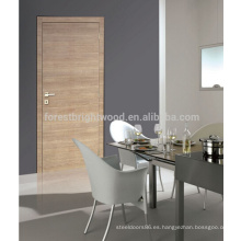 Puerta de madera interior de piel de puerta de melamina