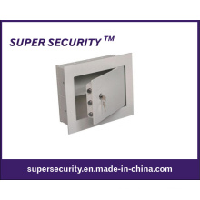 """Caja fuerte de acero para pared con 1 """"brida de seguridad para el hogar (SMQ1314)"""