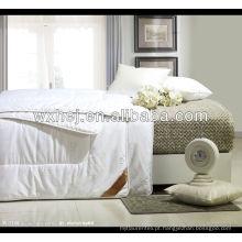baixo preço cama poliéster consolador conjunto para casa hotel