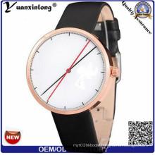 Yxl-544 Leather Strap Quartz OEM Original Branded Fashion Wrist Watches Customized Personalized Wrist Watch