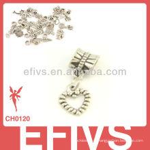 2013 Новая мода в форме сердца очарование 925 серебряные подвески прелести
