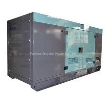 Generador diesel silencioso de 50 kVA con CUMMINS 4BTA3.9-G2