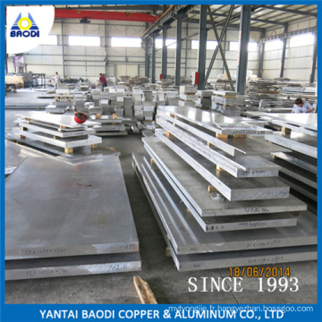 Tôle et plaque d'aluminium en alliage 5052-H32 5083-H112 5754-H32