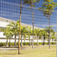 Powder Painted 3D Bending Wire Mesh Fence