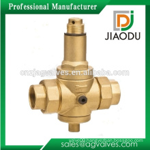 low price good quality forged npt female threaded brass steam pressure reducing valve