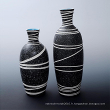 Nouvelle conception de vase en porcelaine Modern Art Modern Decoration pour promotionnel (B162)