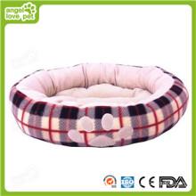 Cotton Soft Paw Print Dog Bed (HN-pH313)