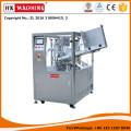 HX-009 Os Tubos De Plástico E Tubos De Plástico De Alumínio Laminado De Enchimento E Selagem Da Máquina