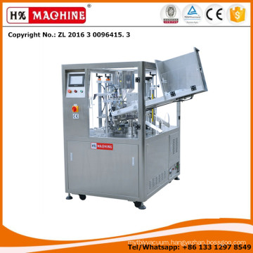 HX-009 The Plastic Tubes And Plastic-Aluminum Laminated Tubes Filling And Sealing Machine