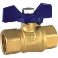 Brass Ball Valve with Aluminum Handle1/2 (YD-1018)