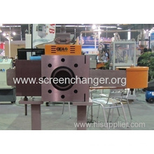 Automatic Mesh Belt Melt Filter For Plastic Extruder