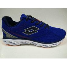 Dunkelblau Breathable Lace up Jogging Schuhe für Männer