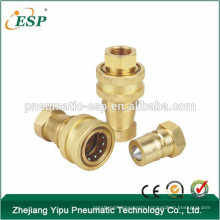 KZD medium pressure high performance hydraulic and air compressor coupling(brass )