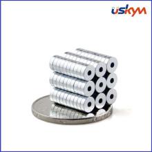 Zinc Plating NdFeB Magnet Aimant d'anneau permanent