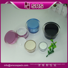 Plastic Beauty Cream Packaging And Acrylic Small Shape Empty Cosmetic 5g 10g Nail Polish jar