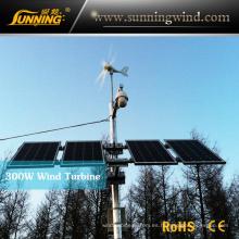Sistema de circuito cerrado de televisión híbrido Solar de viento 300W