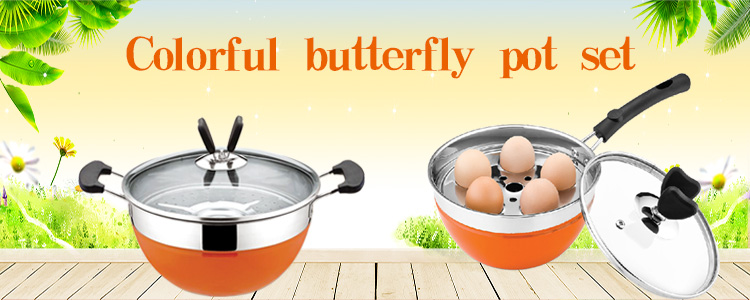 Butterflies Pot Set
