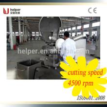 Maquinaria auxiliar cortador de verduras en línea cortador de cuenco de la India Chopper