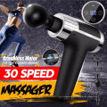 OEM Muscle Relaxation Massage Gun with 4 Heads