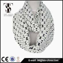 2015 novo design atacado malha em torno do pescoço lenço