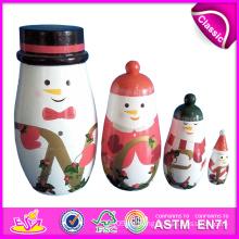 2014 russische Matryoshka Puppen für Kinder, russische Matryoshka Puppen für Kinder, süße russische Matryoshka Puppen für Baby Factory W06D036