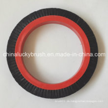 Reine schwarze Borstenrundbürste für Textima Textilmaschine (YY-422)