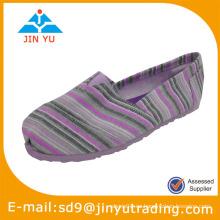 Zapatos ocasionales de la lona de la lona de EVA