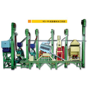 40-50 Tons Per Day Complete Rice Milling Machine