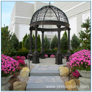 Large Size Wrought Iron Gazebo for sale