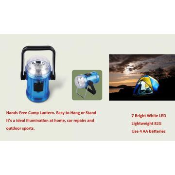 4 luzes de lanterna AA Camping