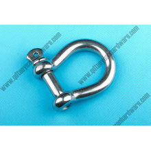 European Type Large Bow Shackle Stainless Steel Rigging