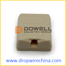 RJ11 Toolless Telephone Terminal Box With Gel