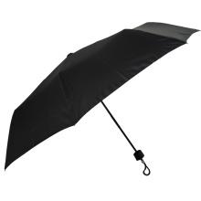 Parapluie ouvert manuel de gentleman de promotion 3 fois pas cher de petite taille