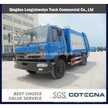 Camión de basura del compresor de la basura de Dongfeng 13cbm