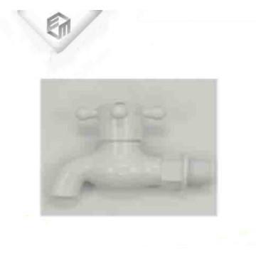 Bacia de plástico branco PVC pia torneira bibcock de água