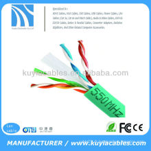 Vert CAT6 SOLID BULK câble cat6 24AWG 1000FT