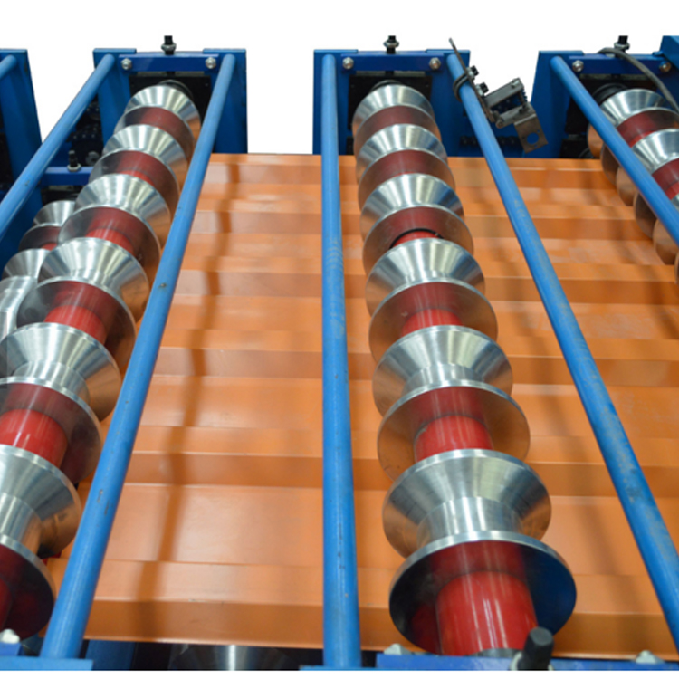 Color Steel Double Roof Sheet Machine