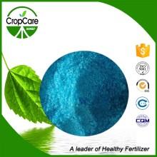 Engrais soluble dans l'eau de couleur bleue NPK 20-20-20 + Te