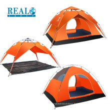 High quality waterproof large tent outdoor collapsible camping tent for 3-4 peoples
