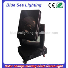 GuangZhou 4/5/7/10KW color changeable moving head powerful searchlight